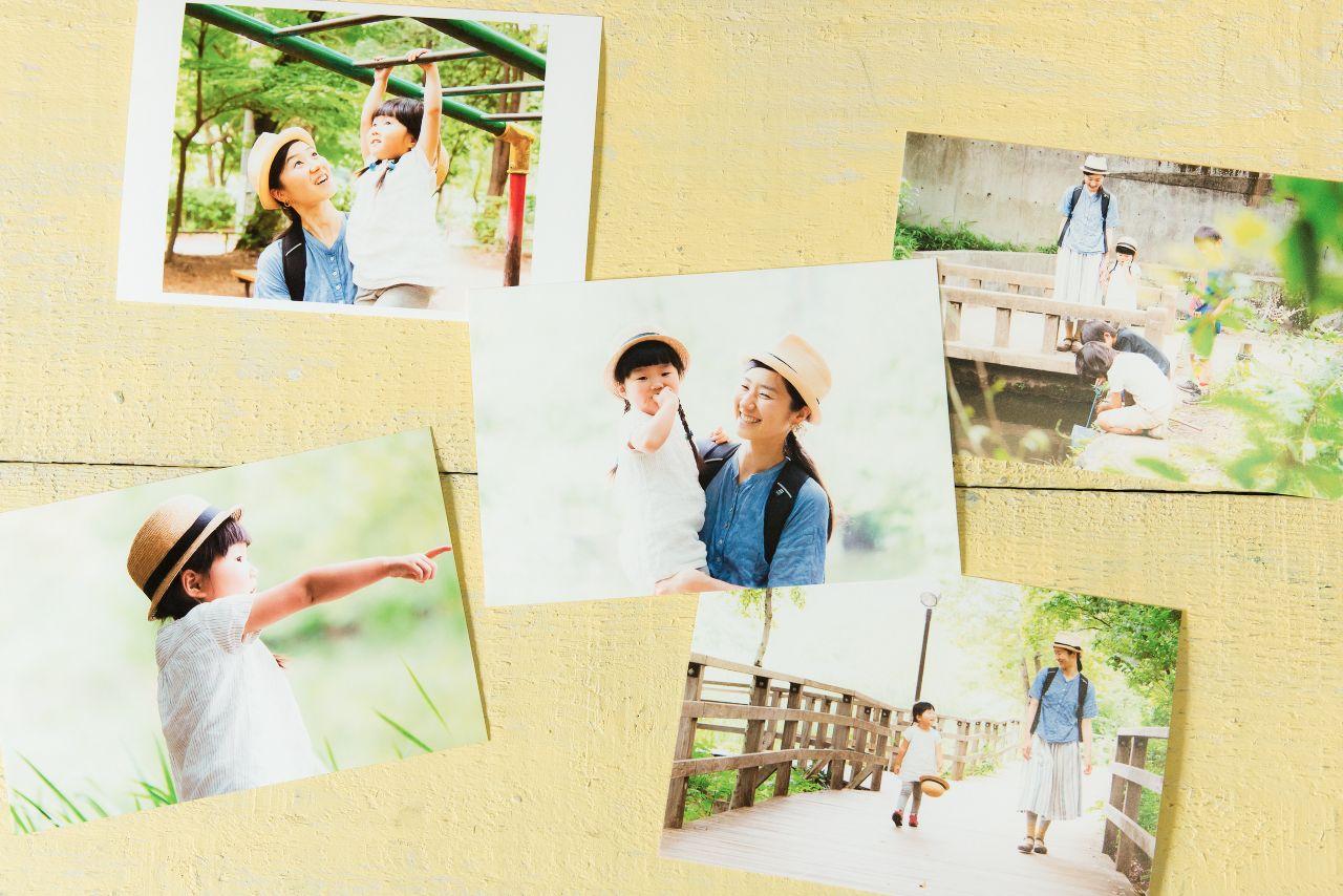 竹花ロケーション撮影、はがきサイズプリントイメージ